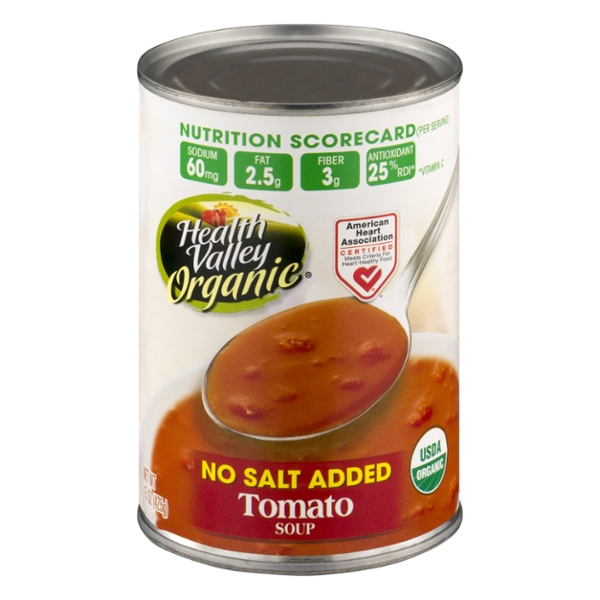 Health Valley Tomato Soup No Salt Added Organic