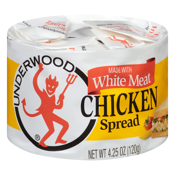 Underwood Chicken Spread White Meat