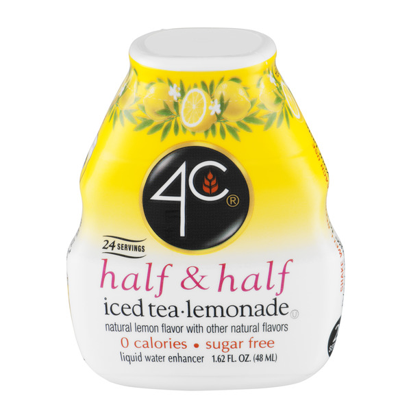 4C Half & Half Water Enhancer Iced Tea Lemonade