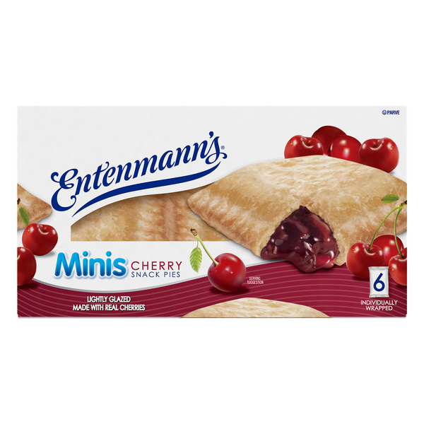 Entenmann's Mini Snack Pies Cherry - 6 ct