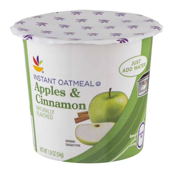 MARTIN'S Instant Oatmeal Apples & Cinnamon