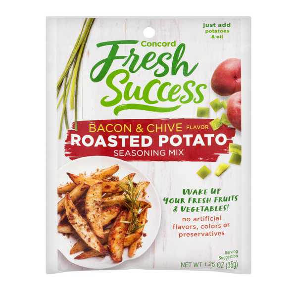 Concord Foods Roasted Potato Bacon & Chive Seaoning Mix