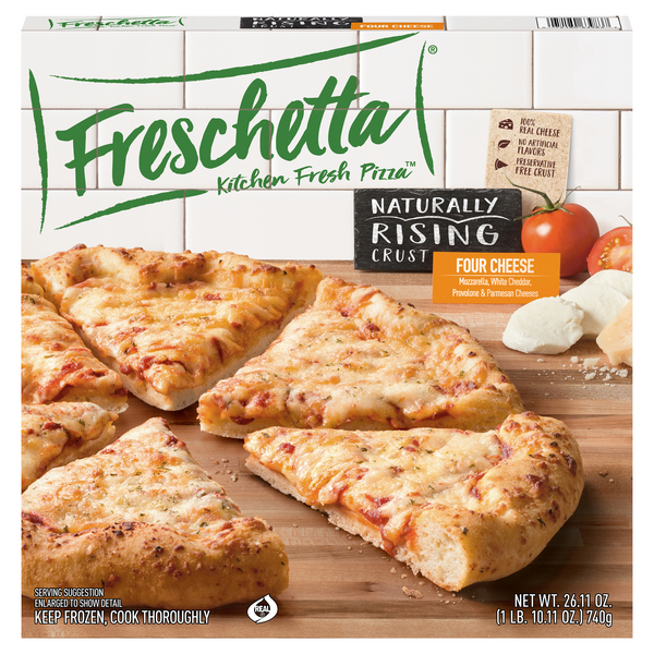 Freschetta Naturally Rising Crust Four Cheese Medley Pizza