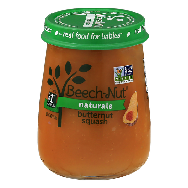 Beech-Nut Naturals Stage 1 Baby Food Butternut Squash