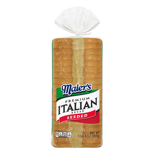 Maier's Premium Italian Bread Seeded