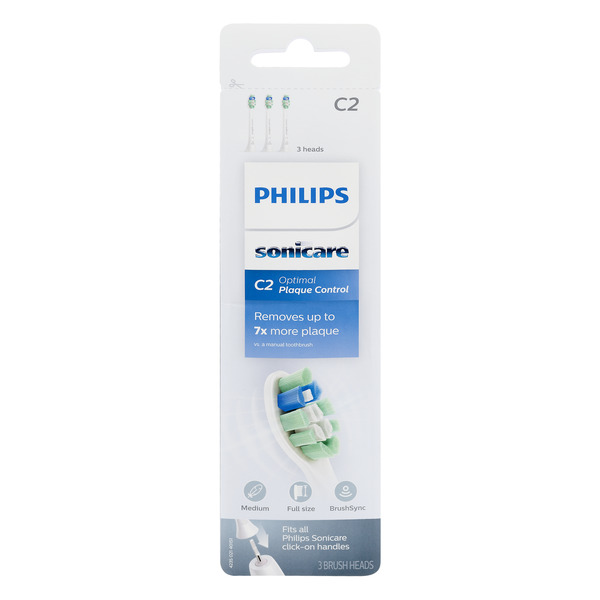 Philips Sonicare Toothbrush Heads Medium C2