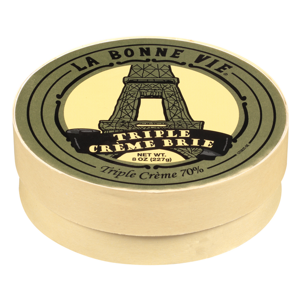 La Bonne Vie Triple Cream Brie Cheese Soft Ripened