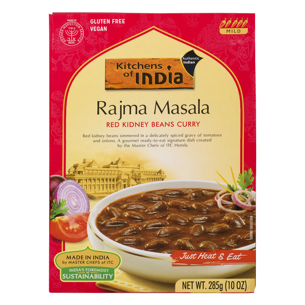 Kitchens of India Rajma Masala Mix Red Kidney Beans Curry Natural