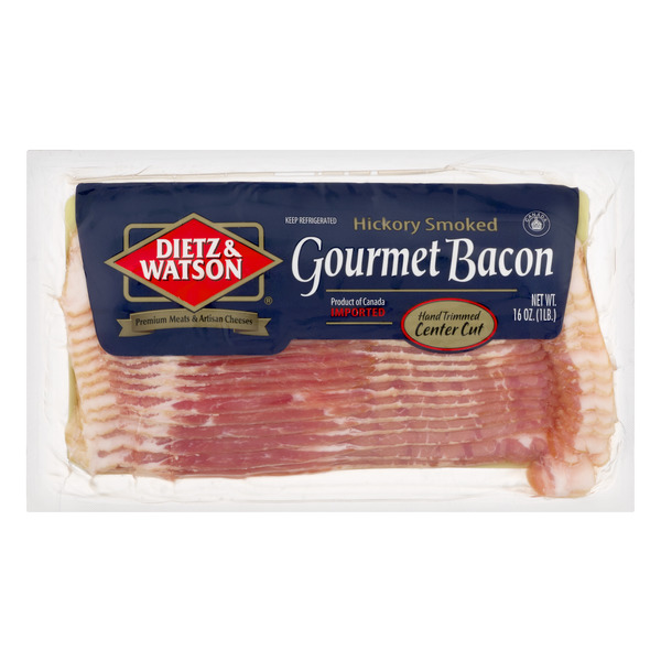 Dietz & Watson Gourmet Bacon Hickory Smoked Sliced