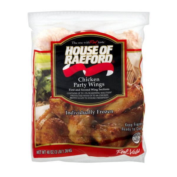 House of Raeford Chicken Party Wings Frozen
