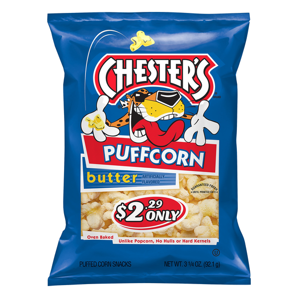 Chester's Puffcorn Butter