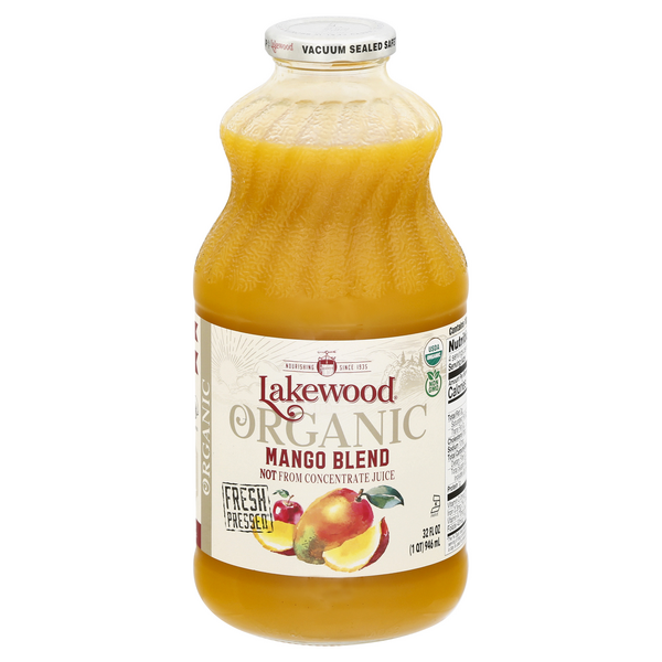 Lakewood Fresh Blends Mango 100% Juice Blend Organic