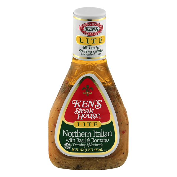 Ken's Dressing Northern Italian with Basil & Romano Lite