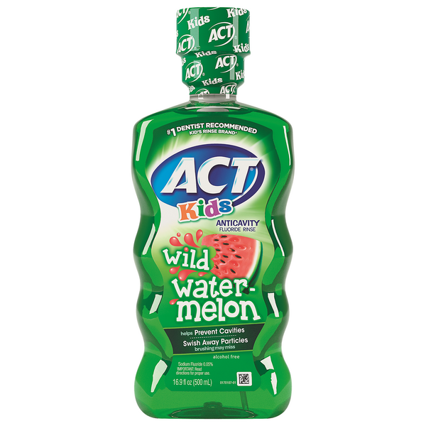 Act Kids Anticavity Fluoride Rinse Wild Watermelon