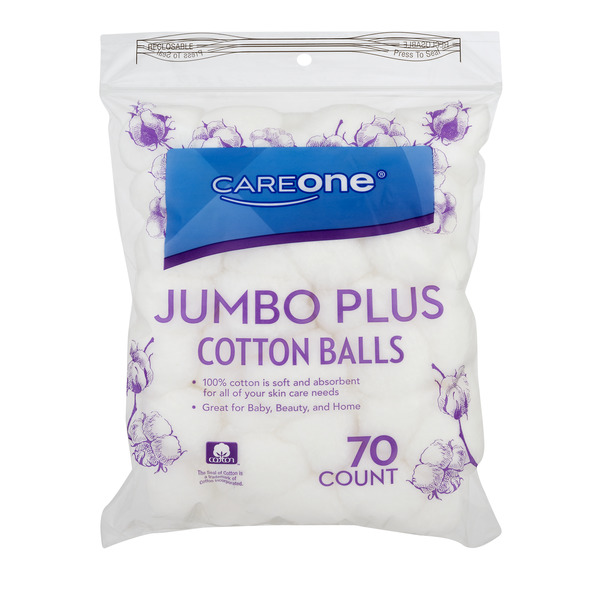CareOne Cotton Balls Jumbo Plus