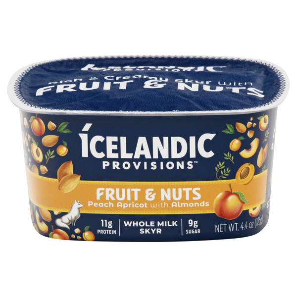 Icelandic Provisions Fruit & Nuts Peach Apricot with Almonds