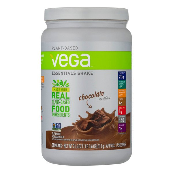 Vega Plant Based Essentials Shake Drink Mix Chocolate