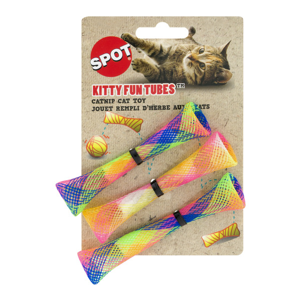 SPOT Kitty Fun Tubes Catnip Cat Toy
