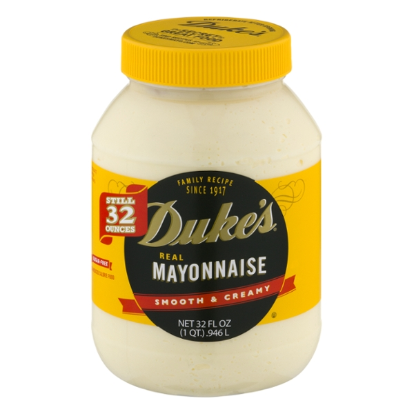 Duke's Real Mayonnaise Smooth & Creamy Sugar Free
