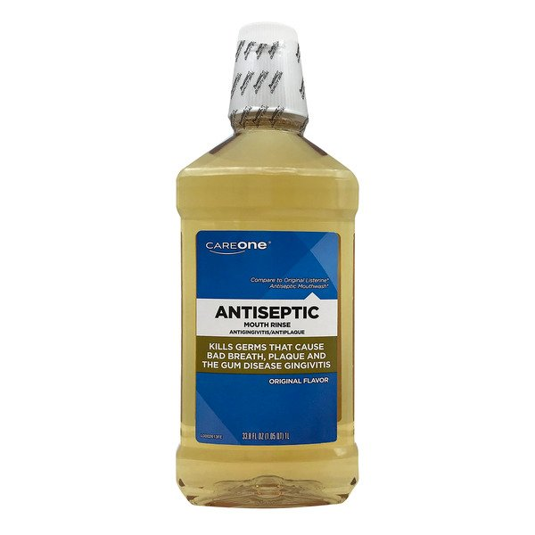 CareOne Antiseptic Mouth Rinse Original Flavor