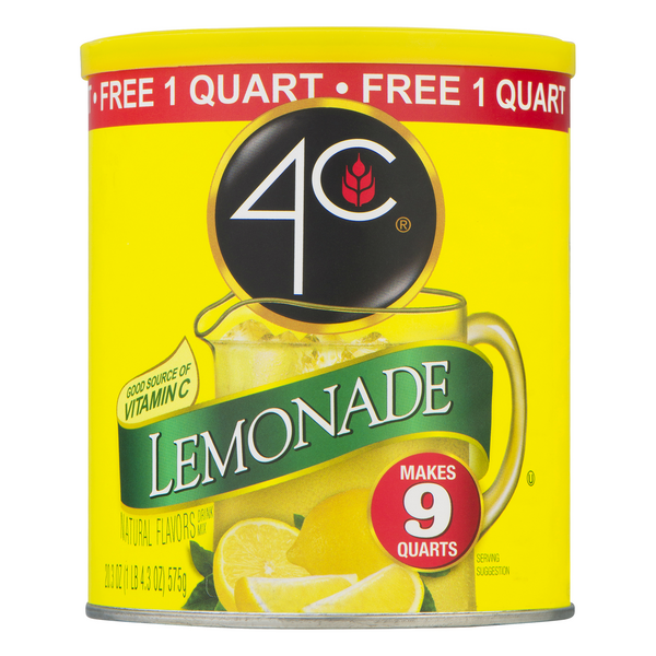 4C Drink Mix Lemonade