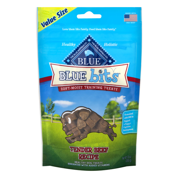 Blue Buffalo Dog Treats Blue Bits Tender Beef Recipe
