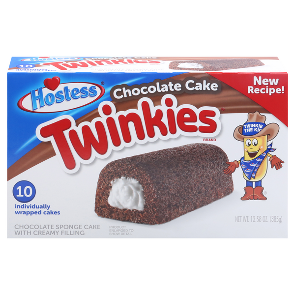 Hostess Twinkies Chocolate Cake - 10 ct