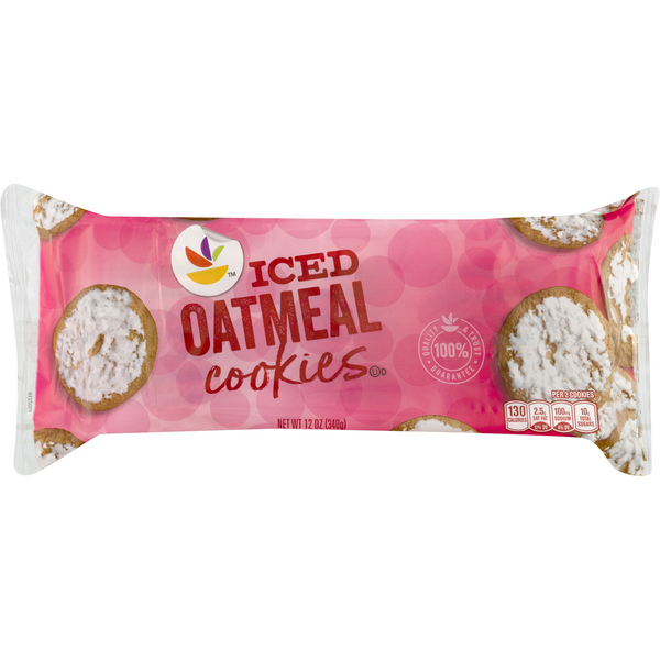 Stop & Shop Oatmeal Cookies Iced