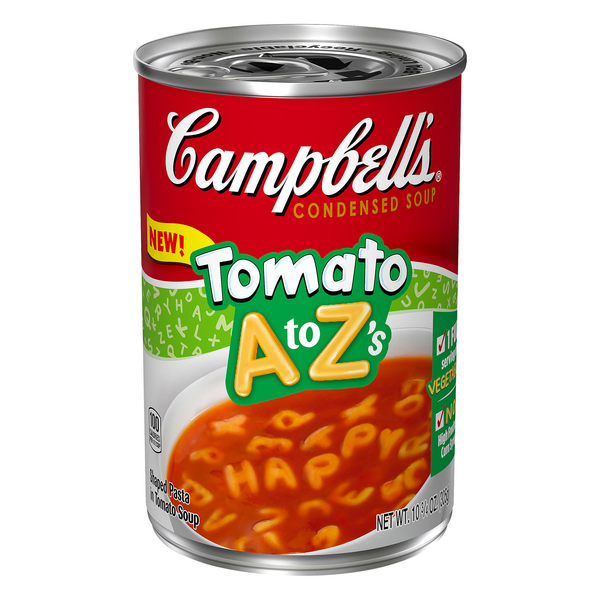 Campbell's Condensed Soup Tomato A to Z's
