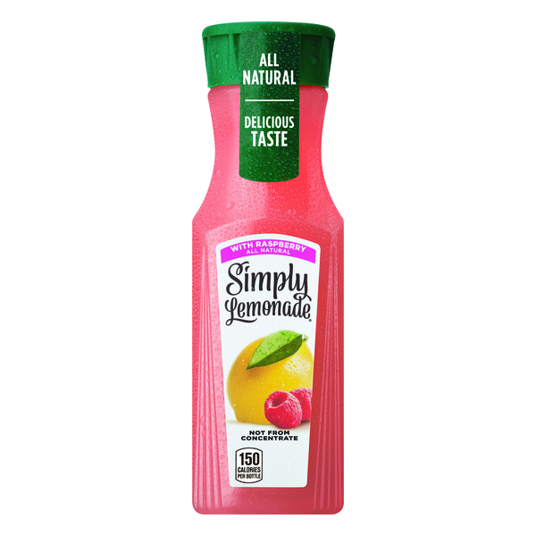 Simply Lemonade with Raspberry All Natural
