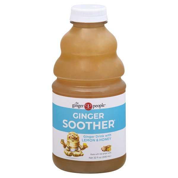 The Ginger People Ginger Soother Drink with Lemon & Honey