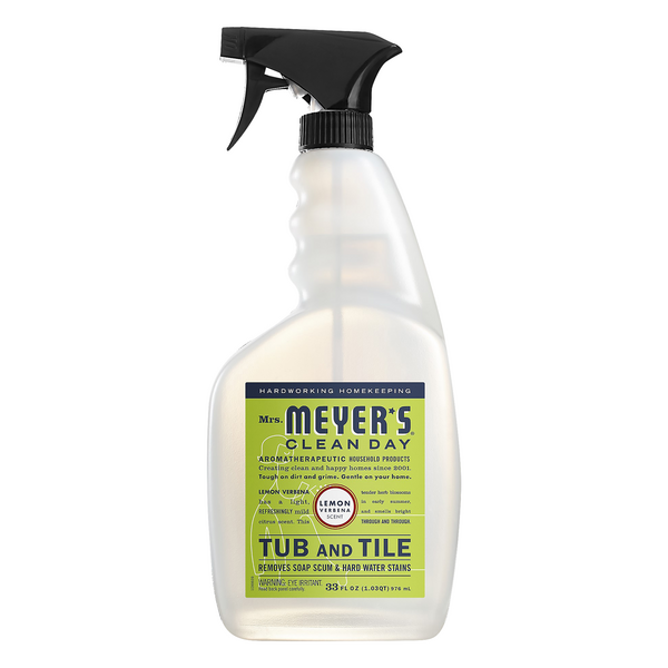 Mrs. Meyer's Clean Day Tub And Tile Cleaner Lemon Verbena Scent