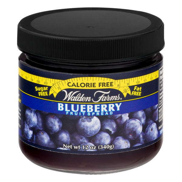Walden Farms Fruit Spread Blueberry Calorie Free