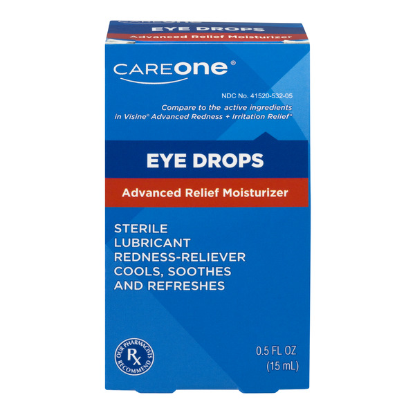 CareOne Advanced Relief Moisturizer Eye Drops
