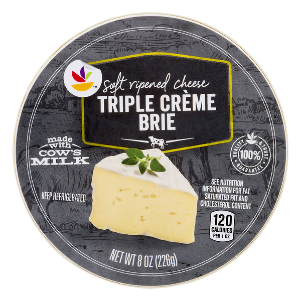 Stop & Shop Brie Cheese Triple Creme