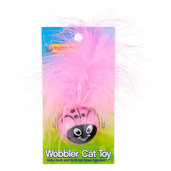 Ruffin' It Wobbler Cat Toy