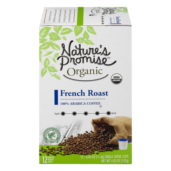 Nature's Promise Organic French Roast Dark Roast Coffee K-Cups