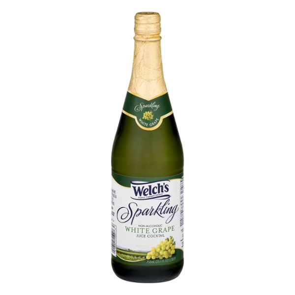 Welch's Sparkling White Grape Juice Cocktail Non Alcoholic