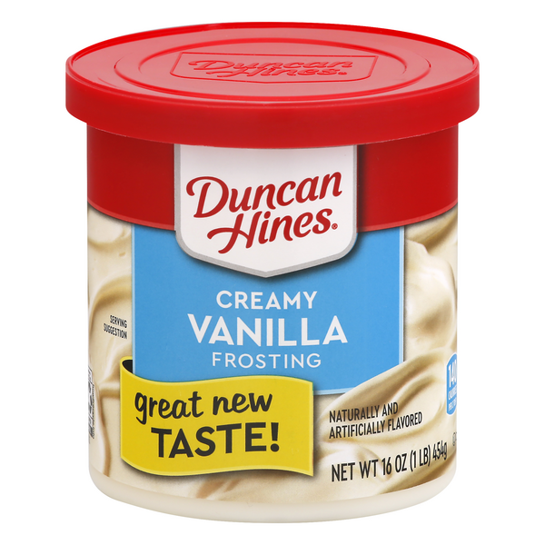 Duncan Hines Creamy Home-Style Frosting Classic Vanilla