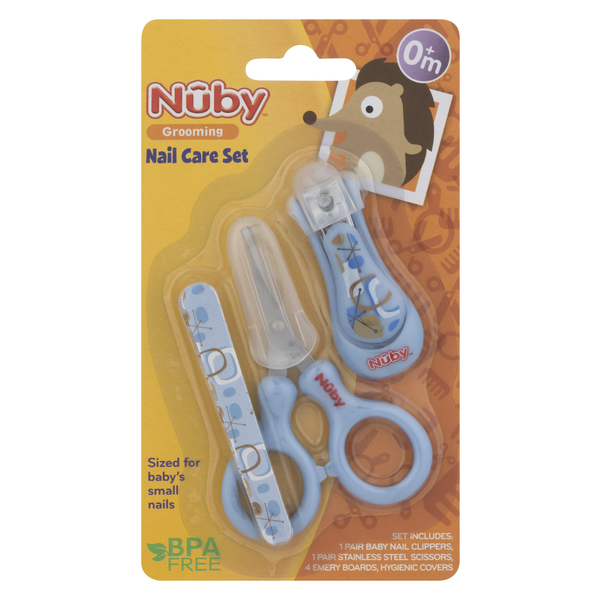 Nuby Nail Care Set Grooming 0+ m