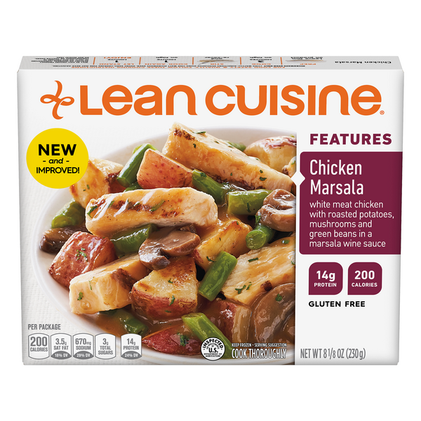 Lean Cuisine Features Chicken Marsala Gluten Free