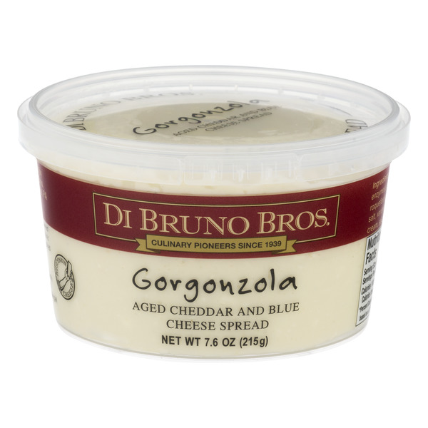 Di Bruno Bros. Aged Cheddar & Blue Cheese Spread Gorgonzola