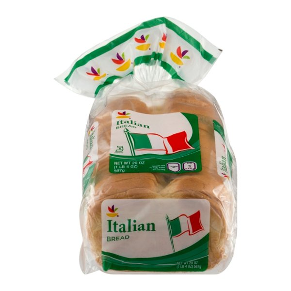 Giant Italian Bread Seedless