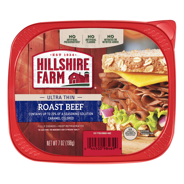 Hillshire Farm Roast Beef Ultra Thin Sliced
