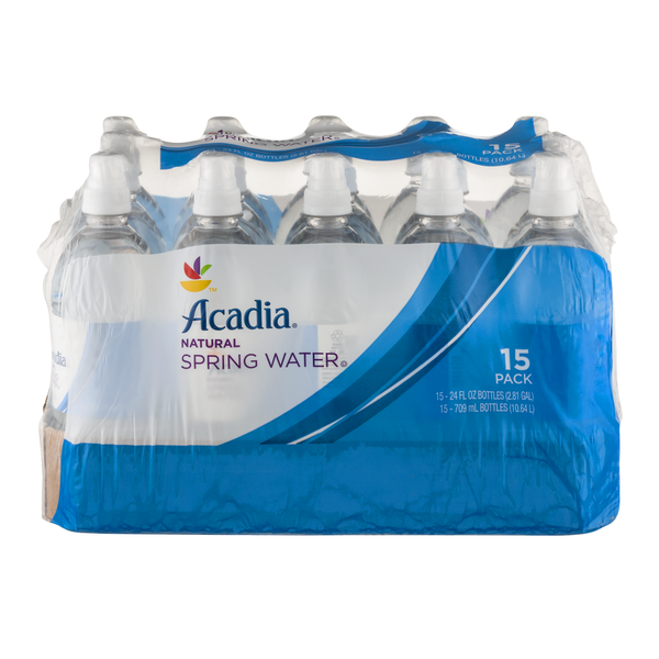 GIANT Acadia Spring Water Natural - 15 pk