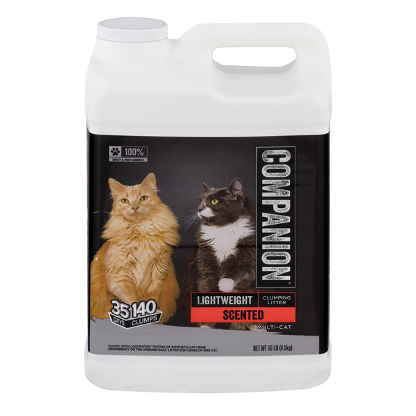 Companion Lightweight Clumping Cat Litter Scented