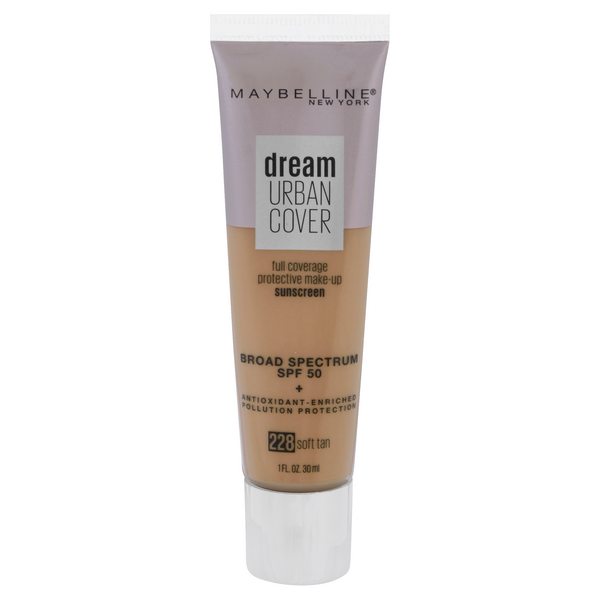 Maybelline Dream Urban Sunscreen Soft SPF 50 Tan 228