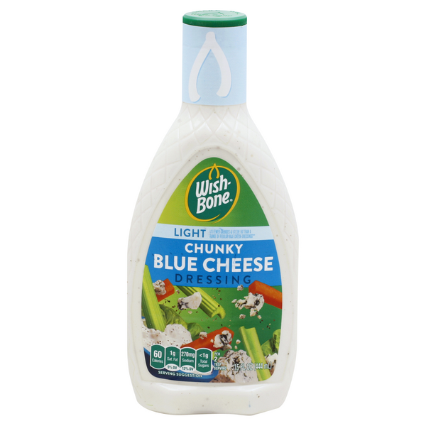 Wish-Bone Chunky Blue Cheese Light Dressing