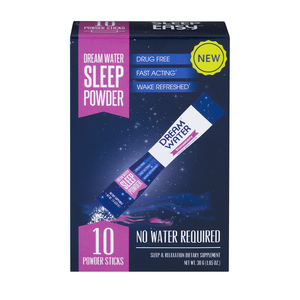 Dream Water Sleep Powder Sticks Snoozeberry