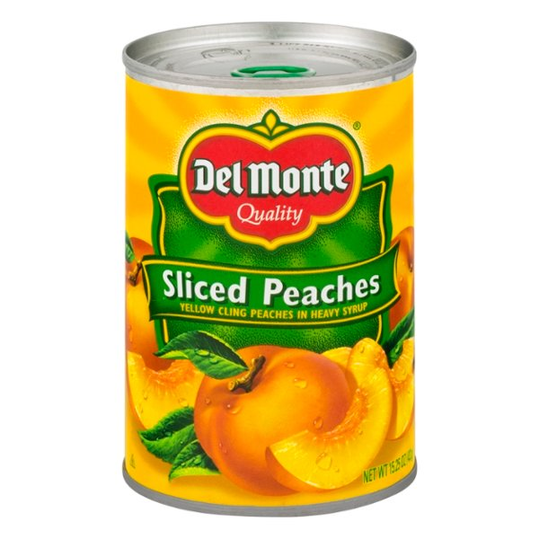 Del Monte Peaches Sliced in Heavy Syrup